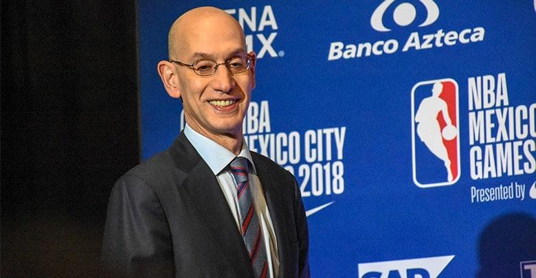 Adam Silver - equipo de la NBA en México