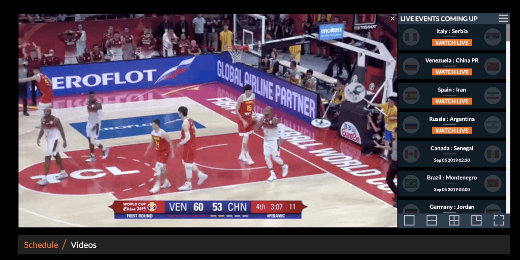 Como ver el mundial de básquetbol por Live Basketball TV