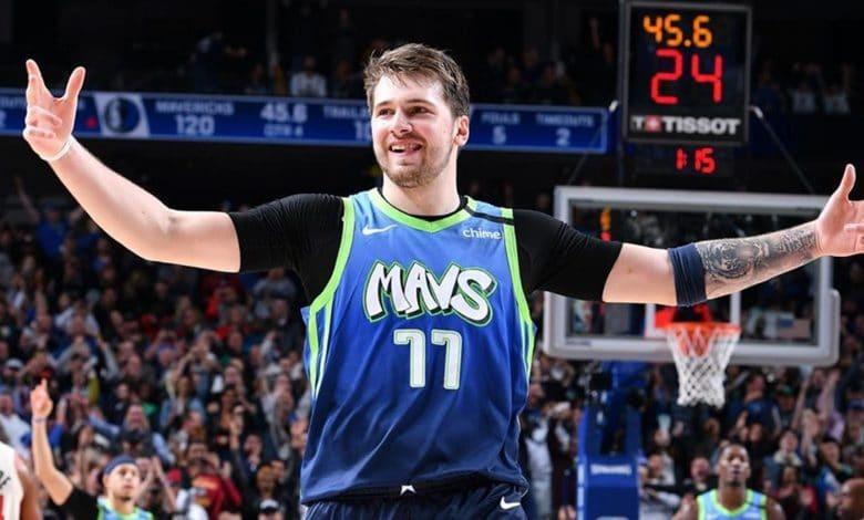 Luka Doncic juego de estrellas NBA