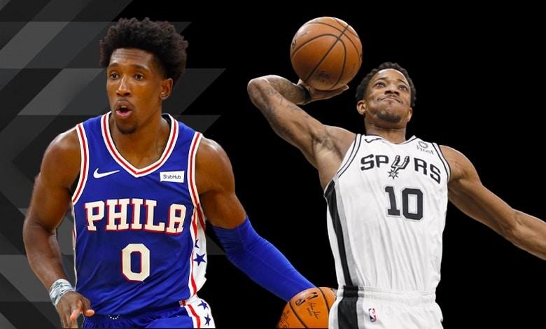 Josh Richardson y DeMar DeRozan jugadores de la semana 12 de la NBA