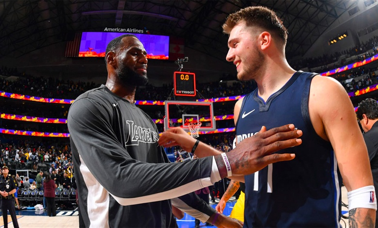Luka Doncic LeBron James