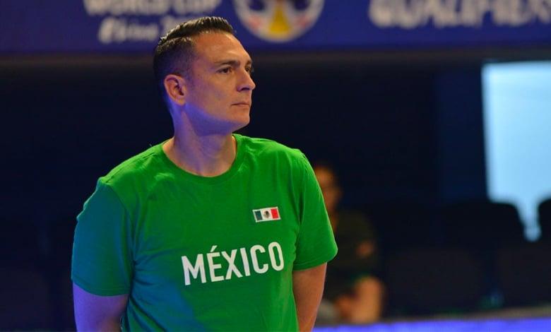 Sergio Molina entrenador selección mexicana básquetbol