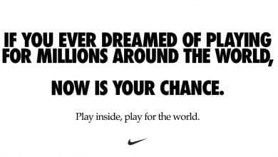 Photo of El poderoso mensaje de Nike para prevenir el Coronavirus
