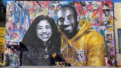 Quitan mural de Kobe Bryant por contingencia de Coronavirus
