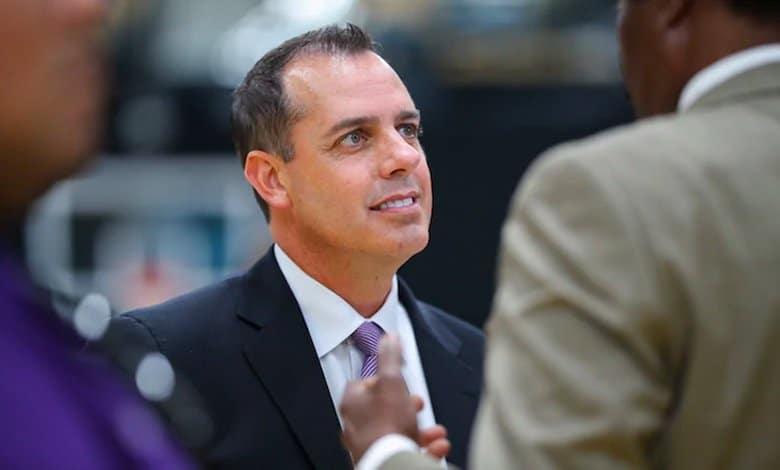 Frank Vogel entrenador de Los Angeles Lakers