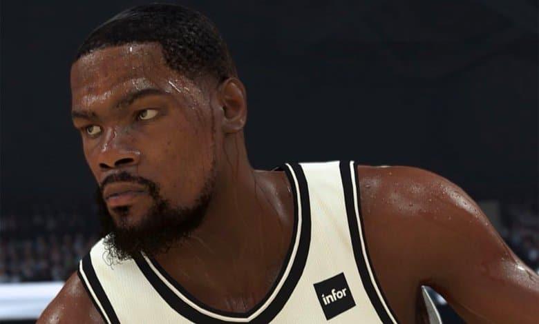 Kevin durant en el torneo de NBA 2K