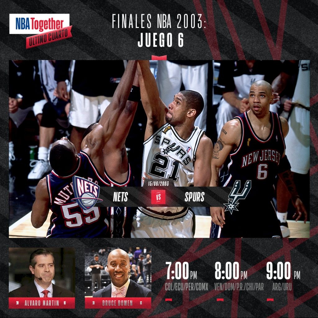 NBA LatAm - Spurs vs Nets