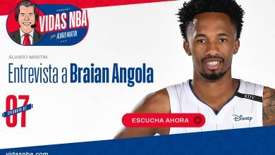 Photo of Alvaro Martin habla con Braian Angola en podcast de NBA LATAM