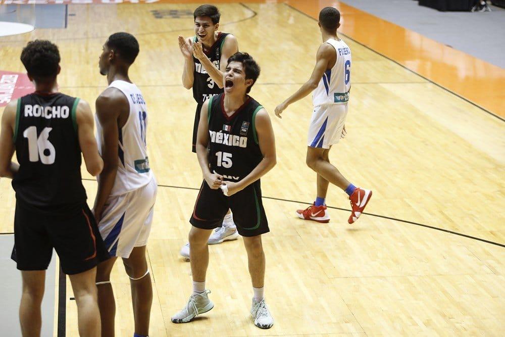 Gilberto Berrones campeon Centrobasket U17
