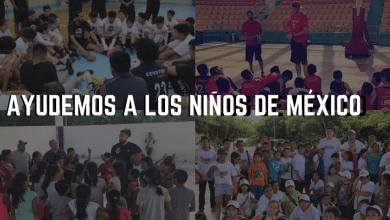 Photo of Seleccionados mexicanos buscan apoyo para ayudar a niños