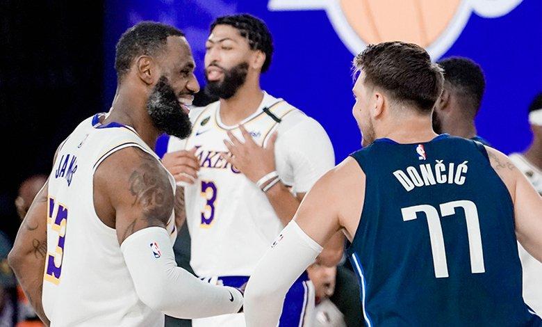 Dallas Mavericks vs Los Angeles Lakers burbuja