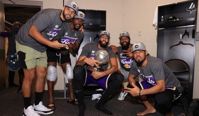 Fotografía: @Lakers
