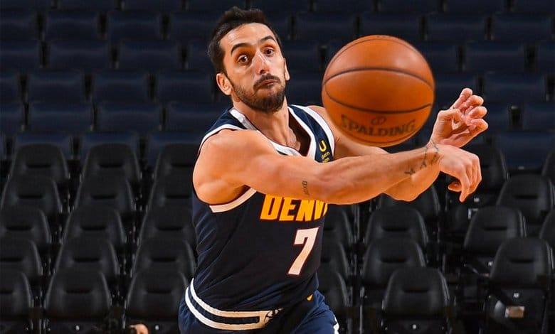 Facundo Campazzo primer juego NBA