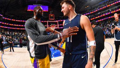 LeBron James- _Luka es uno de mis jugadores favoritos de la NBA_