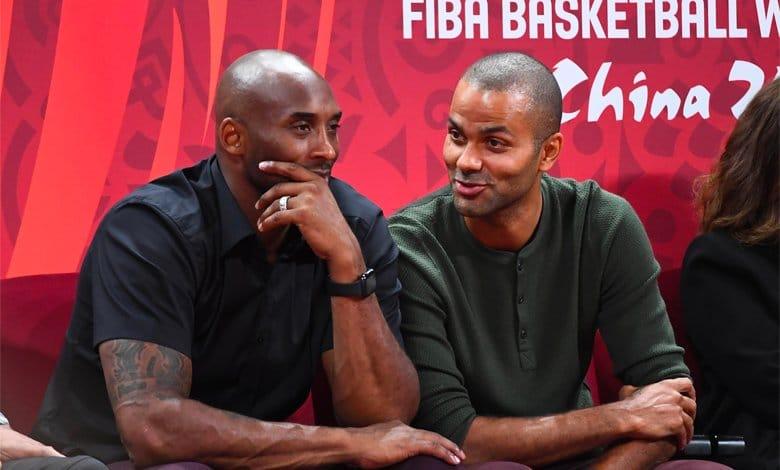 Kobe Bryant y Tony Parker_