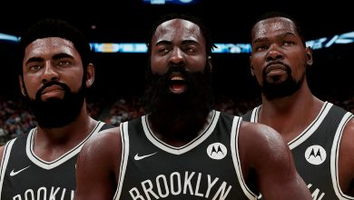 Ya jugamos con James Harden en los Nets de NBA 2K21 Next Gen vs Lakers