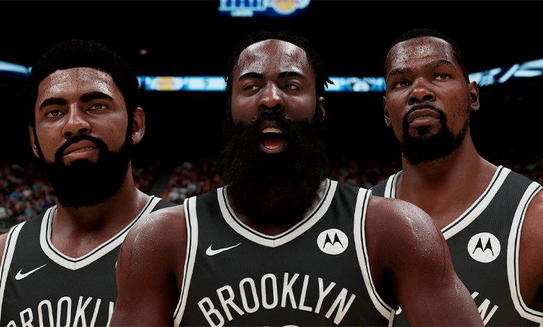 Ya jugamos con James Harden en los Nets de NBA 2K21 Next Gen vs Lakers